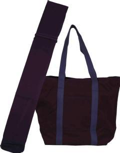 織刺藍染竹刀袋・防具袋セット